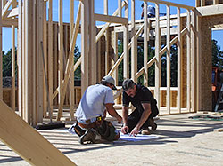 Jim Sickles Construction, New York Home Builder Architectural Home Framing